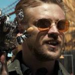 Boyd Holbrook playing pierce in Logan
