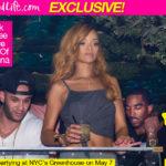 Rihanna and JR Smith Party