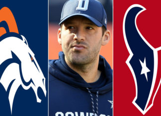 tony romo broncos or texans or retire