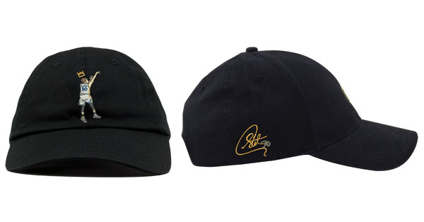 steph curry dad hat product view