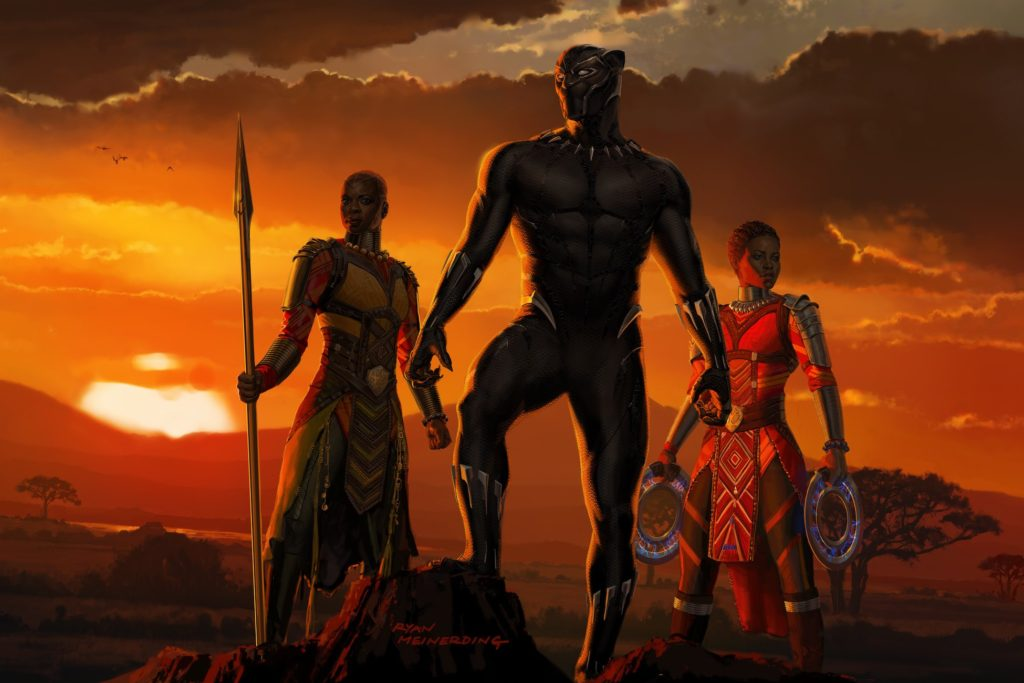 Black Panther Art - Wakanda Sunset
