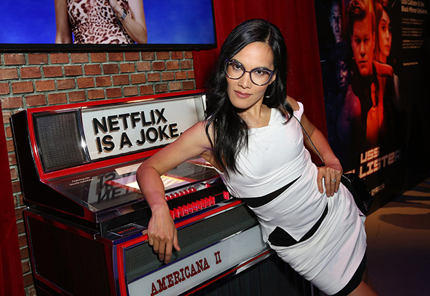 ali Wong at a bar