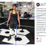 hassan whiteside at DBC fitness in Miami's wynwood district