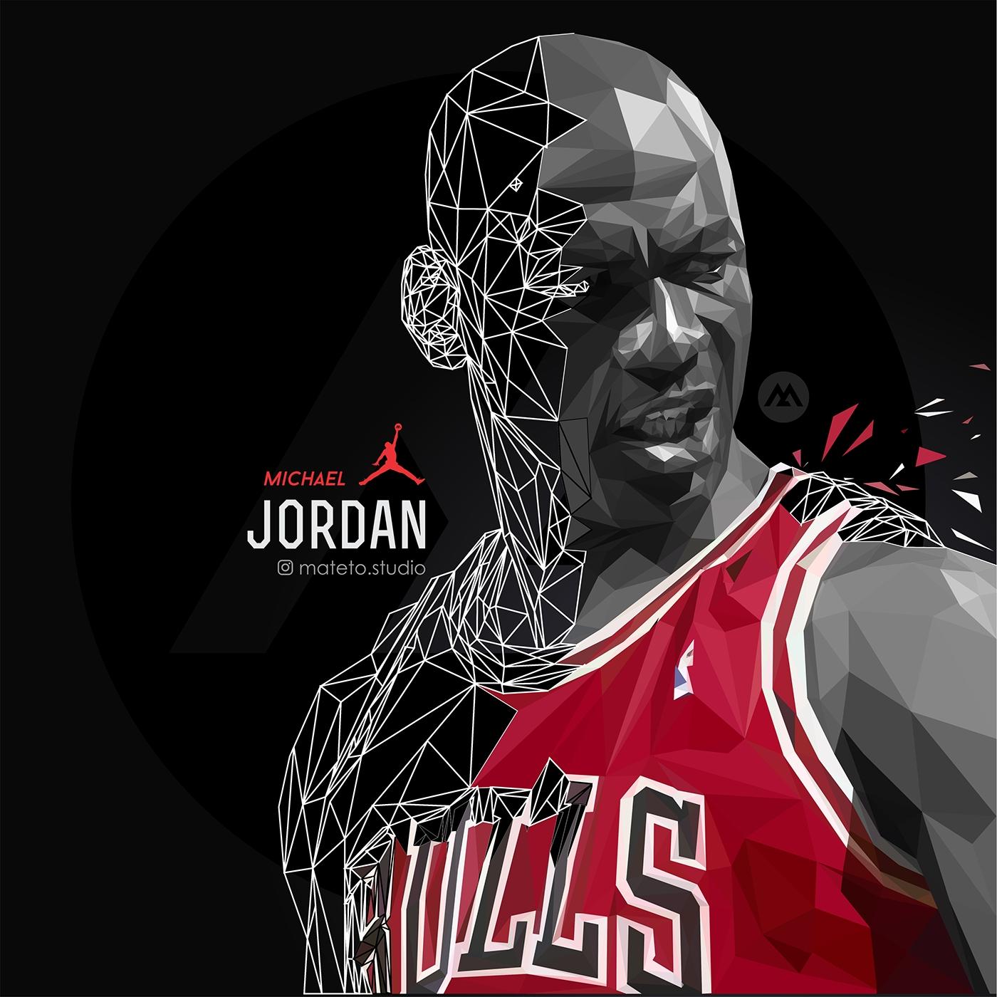 michael jordan goat mamba graphics